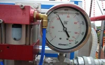 Como funciona o teste hidrostático?