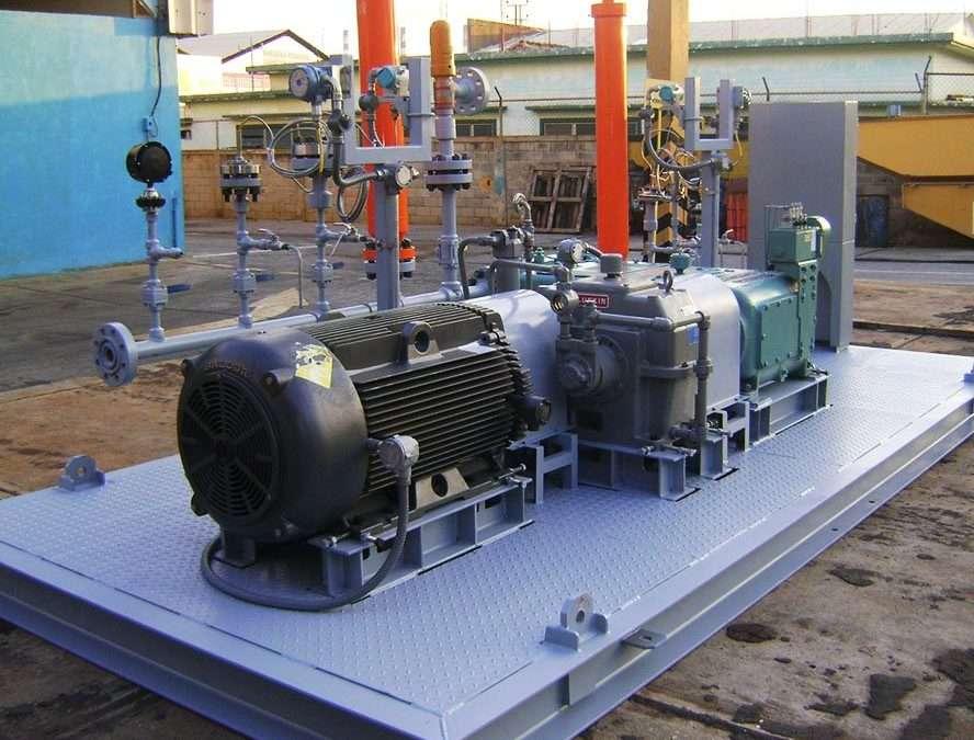 Como funciona o sistema de bombeamento de água?