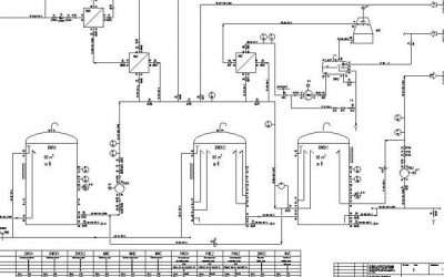 Entenda o diagrama de tubulação e instrumentação