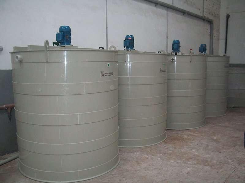 Como funciona um tanque para preparação de reagentes